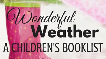 Wonderful Weather Books (What to Read Wednesday)