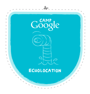 camp google badge