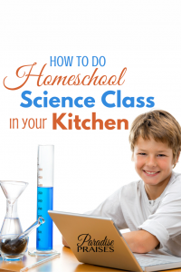 science class in the kitchen