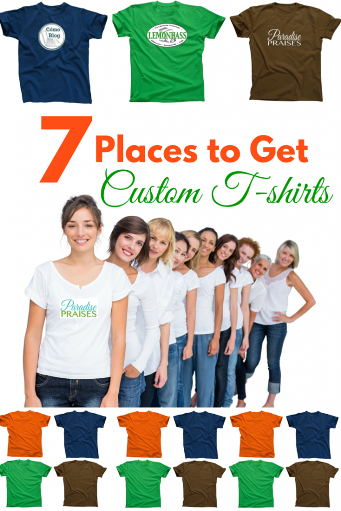 7 places to get custom t-shirts, paradisepraises.com