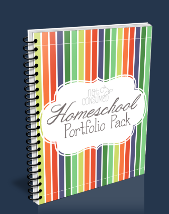Homeschool portfolio pack