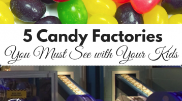 5 Candy Factories You Must See with Your Kids