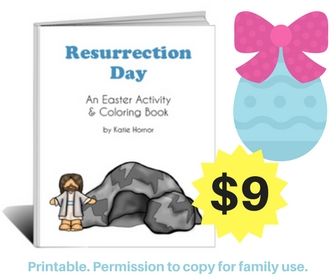Resurrection Day activities printable activities