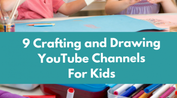 9 Crafting and Drawing YouTube Channels For Kids