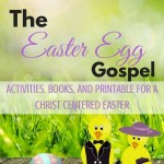 The Easter Gospel, christ centered books, printables, and activities. ParadisePraises.com
