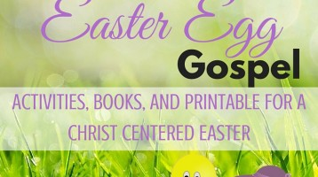 10 Gospel Centered Easter Activities