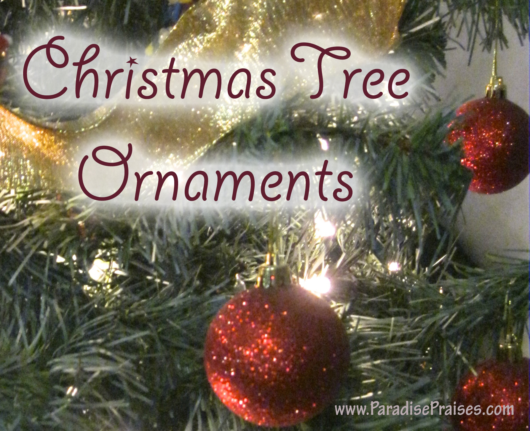 Who Wants a Free Christmas Tree Ornament? (with Free Printable)