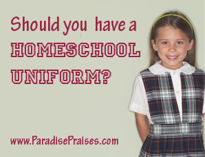 On Homeschool Uniforms