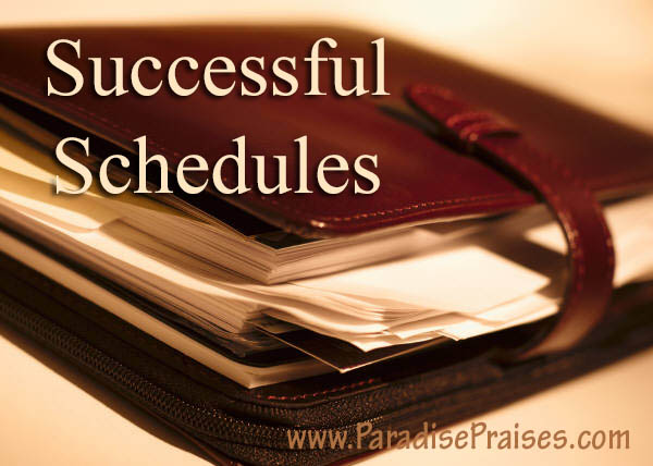 How to Have a Successful Schedule