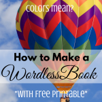 How to Make a Wordless Book via ParadisePraises.com