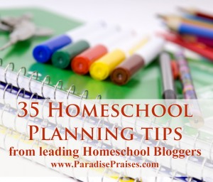homeschool planning tips from Leading Homeschool Bloggers