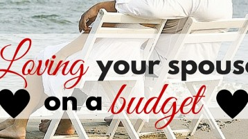 Loving Your Spouse on a Budget