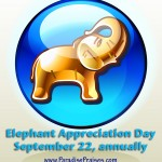 Join us as we celebrate Elephant Appreciation Day www.ParadisePraises.com