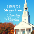 7 Steps to a Stress Free Sunday Morning via Paradise Praises.com