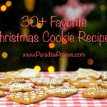 Favorite Christmas Cookie Recipes www.ParadisePraises.com
