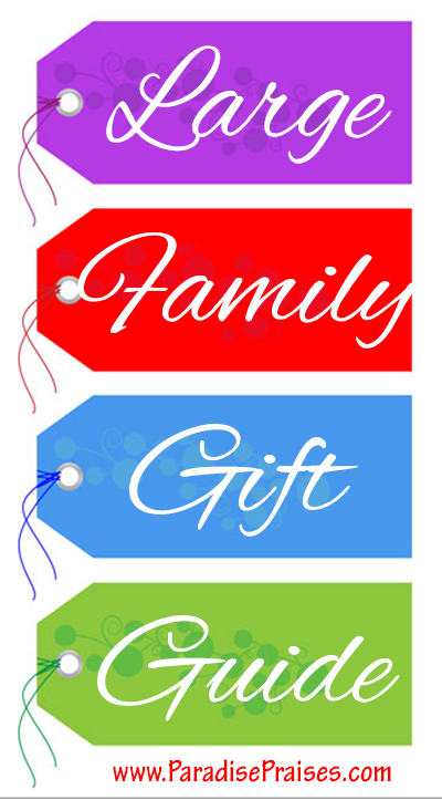 Our Large Family Gift Guide (w/Free Printable)