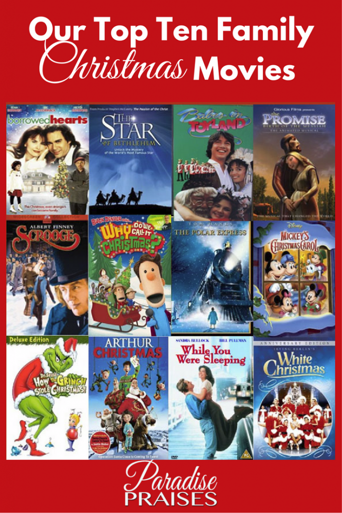Our Top Ten Family Christmas Movies | Paradise Praises