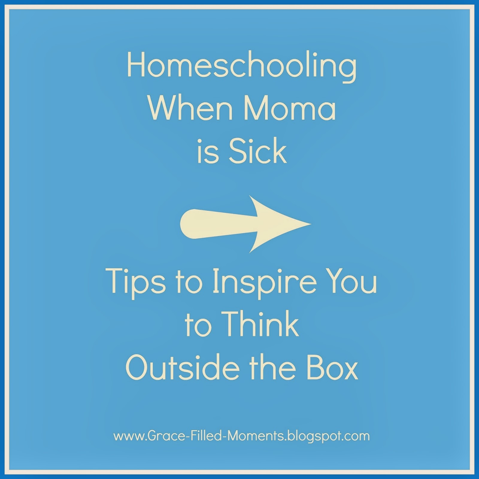 Homeschooling when sick guest post on www.ParadisePraises.com