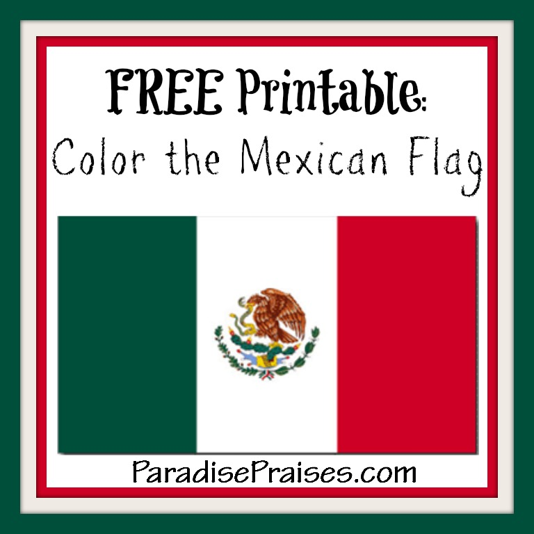 Color the flag of Mexico