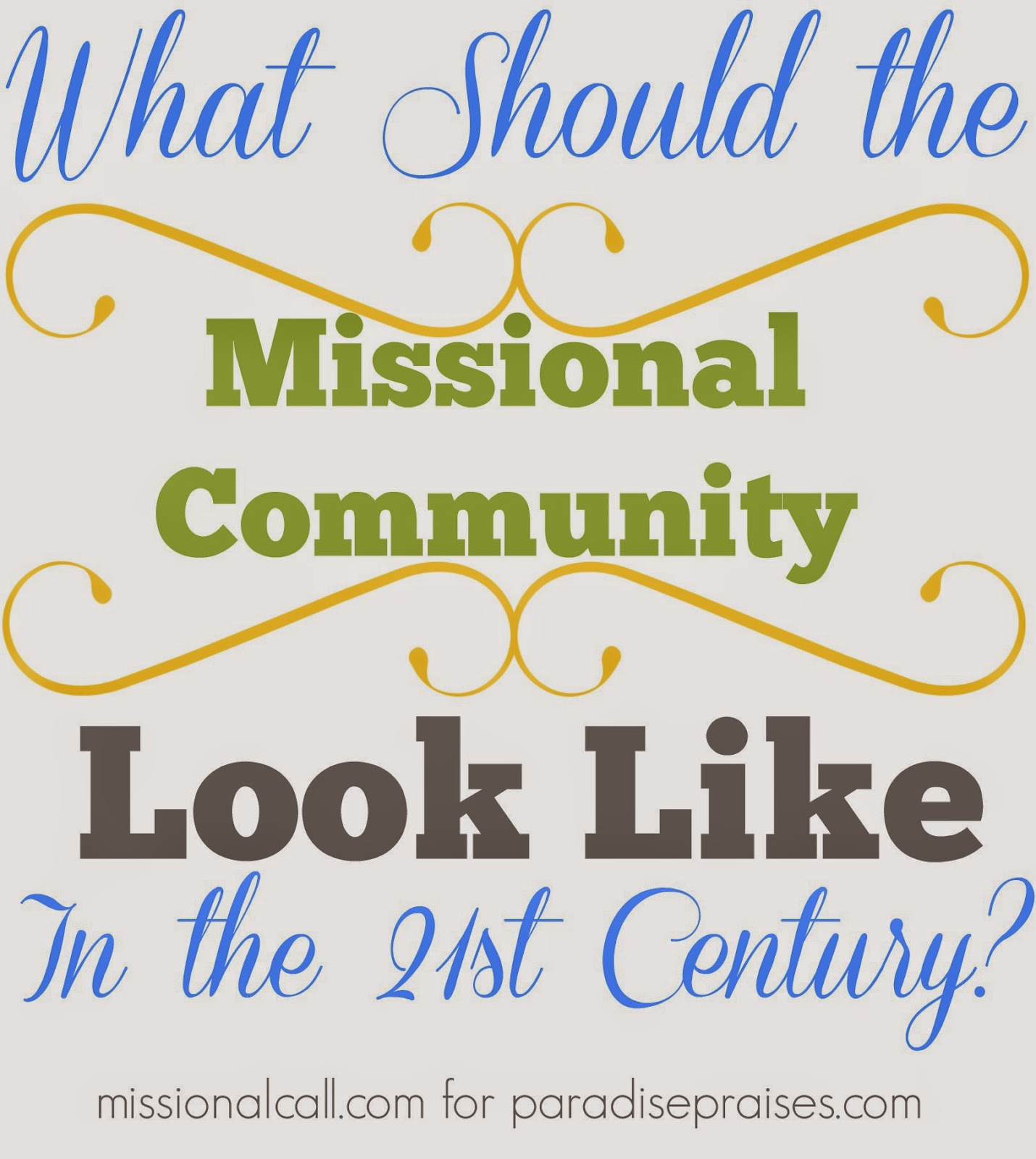 The Missional Call