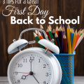 3 Tips for a Great First Day Back to School via paradisepraises.com