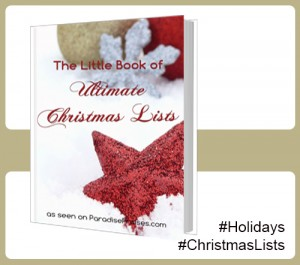 Little Book of Ultimate Christmas Lists @ Paradise Praises