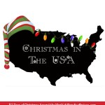 Christmas in the USA, & the history of Electric Christmas Lights, Christmas Around the World @ParadisePraises.com