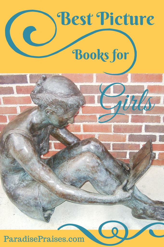 Best books for girls booklist @ ParadisePraises.com