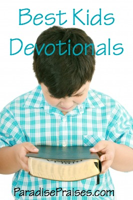 What to Read Wednesday, a great list of the best kids Christian devotionals with link-up! ParadisePraises.com