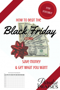 How to beat the Black Friday crowds, save money, and get what you want via ParadisePraises.com