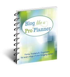 Blog Like a Pro Master Planner