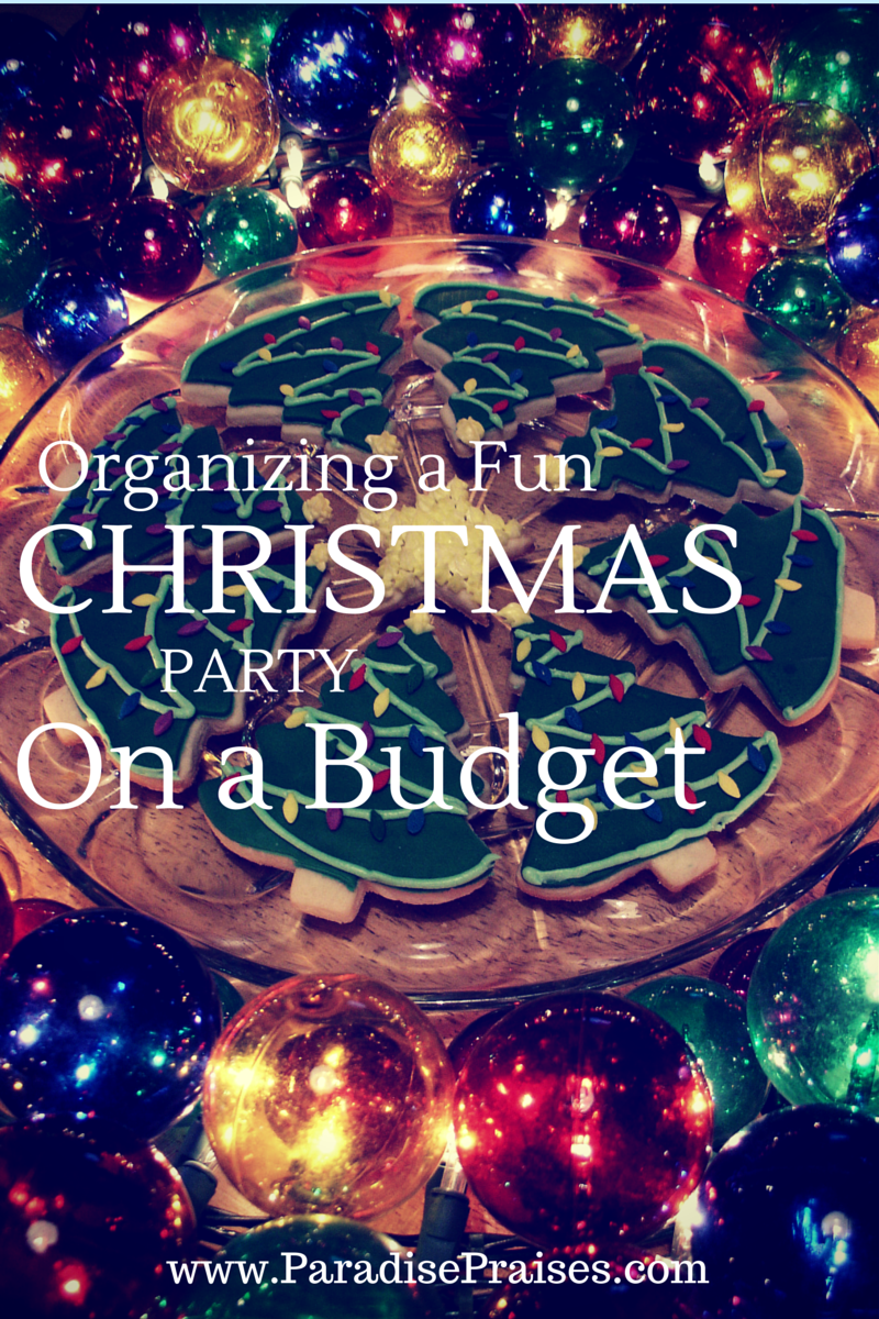 Christmas Party Hosting Ideas Part - 39: Organizing A Fun Christmas Party On A Budget ParadisePraises.com , Home,  Homeschool,