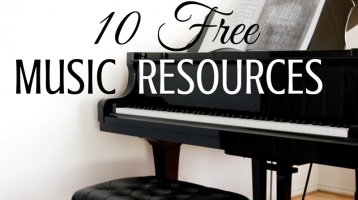 10 Places to Find Free Homeschool Music Resources