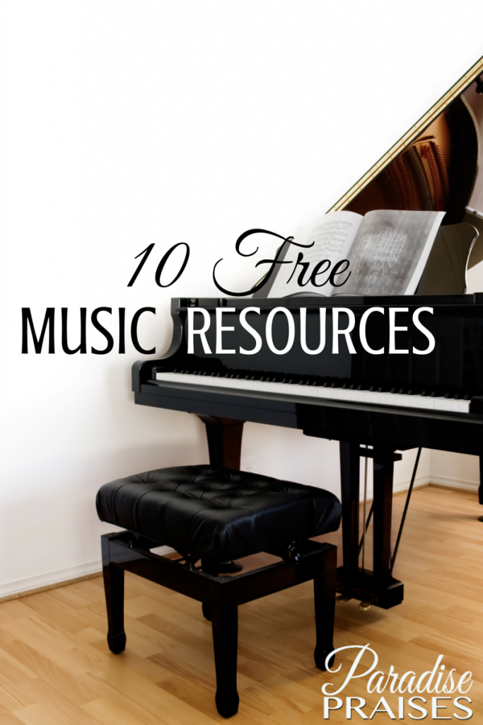 10 Free Music Resources via ParadisePraises.com