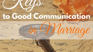 Keys to Good Communication in Marriage