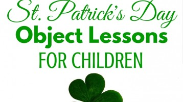 St. Patrick's Day Object Lesson