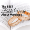 The Best Bible Verse about Marriage via ParadisePraises.com