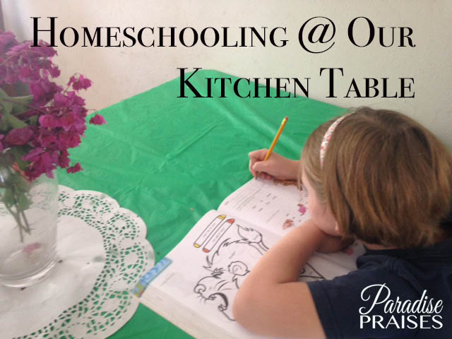 homeschooling with ParadisePraises.com