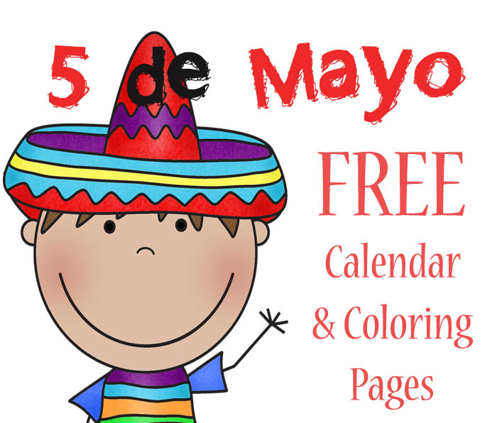 she also has a new mexico geography book that would be perfect to help with your cinco de mayo lesson lastly she has some resources to help teach spanish - Cinco De Mayo Coloring Pages