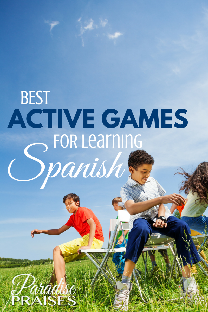 Best Active Games For Learning Spanish
