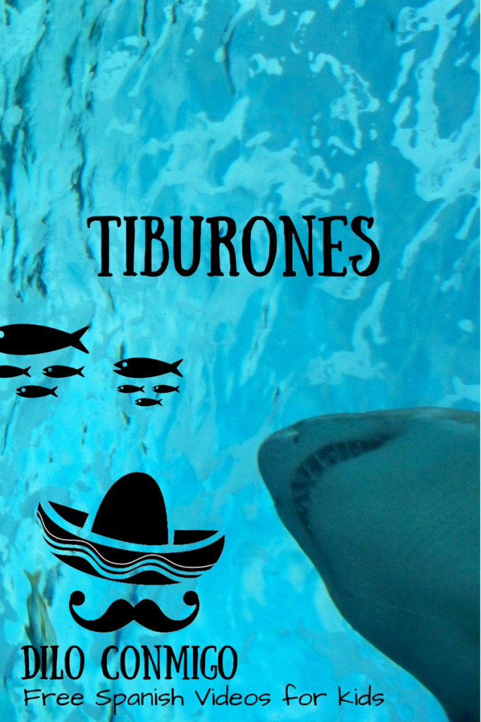 Dilo Conmigo: Free Spanish Videos for Kids (Sharks & Shark Week) via ParadisePraises.com