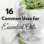 16 Common Uses for Essential Oils via ParadisePraises.com