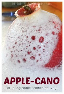 Erupting-Apple-Science-Apple-Cano-Baking-Soda-Science-Fall-Activity-698x1024