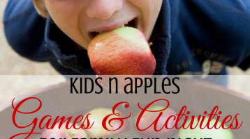 Kids Activities for an Apple Family Fun Night
