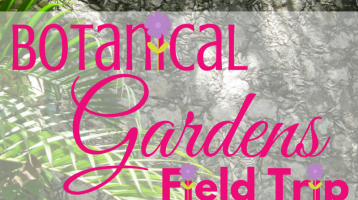 Why Botanical Gardens Field Trips are Important (Free Printable)