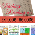 Teaching Phonics and Reading with Explode the Code at ParadisePraises.com