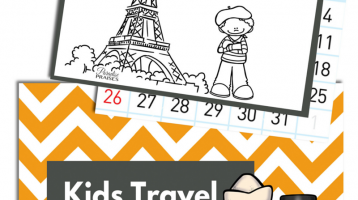 Kids Travel Calendar 2016