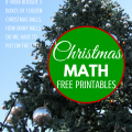 Christmas Math Printables via ParadisePriases.com