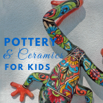 Pottery & Ceramics for Kids, resources and kits for fun and learning, What to Read Wednesday via paradisepraises.com