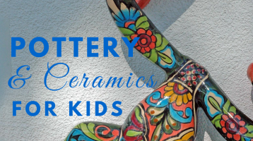 Pottery and Ceramics for Kids (What to Read Link Up)